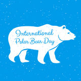 International Polar Bear Day Royalty Free Stock Photography