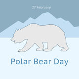 International Polar Bear Day Stock Image