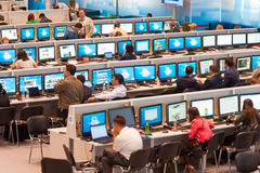 International press center Stock Photography