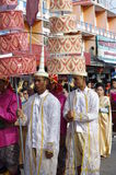 International procession royalty free stock images