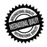 International Quality rubber stamp Stock Images