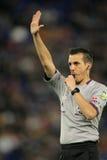 International referee Javier Estrada Fernandez Royalty Free Stock Photo