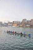 International Rowing Regatta in Turin Royalty Free Stock Image