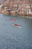 International Rowing Regatta in Turin Royalty Free Stock Photos