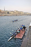 International Rowing Regatta in Turin Stock Photography