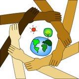 International save the world Royalty Free Stock Photo