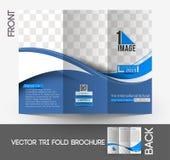 The International School Tri-Fold Brochure Stock Photos
