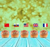 International security summit royalty free stock images