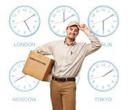 International service Stock Image
