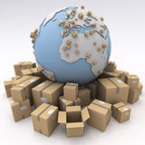 International shipment Royalty Free Stock Photo