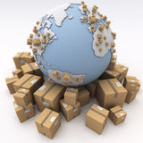 International shipment Stock Photo