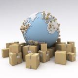 International shipment Royalty Free Stock Photos
