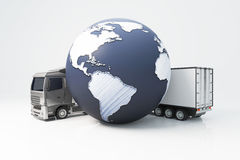 International Shipping Concept Stock Photo