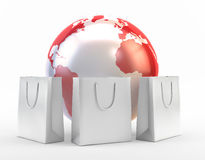 International shopping Royalty Free Stock Photos