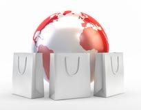 International shopping Royalty Free Stock Photos