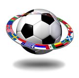 International Soccer Concept Stock Photography