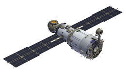 International Space Station. Royalty Free Stock Photography