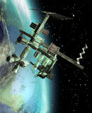 International space station Stock Image