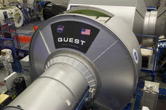 International Space Station QUEST Mockup at NASA Johnson Space C Stock Photos