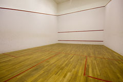International squash court Royalty Free Stock Photo