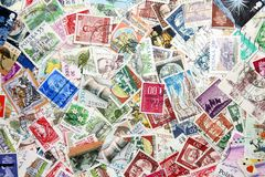 International stamps Stock Image