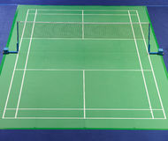 International standard Badminton court royalty free stock photography