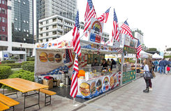 International Street food festival is one of the most popular fo Royalty Free Stock Photos