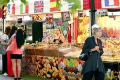 International street market 2014. In sweden Stock Photos