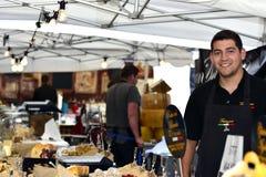 International street market 2014. In sweden Royalty Free Stock Images