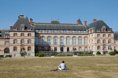 International student house in Paris. International student house near montsouris park royalty free stock images