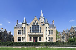 International student house in Paris. International student house near montsouris park royalty free stock photography