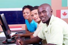 International students royalty free stock photography