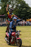 International Stunt Riders. The Festival of Leisure South Derbyshire Royalty Free Stock Photos
