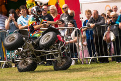 International Stunt Riders. The Festival of Leisure South Derbyshire Royalty Free Stock Photography