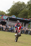 International Stunt Riders. The Festival of Leisure South Derbyshire Stock Image