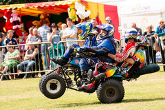 International Stunt Riders. The Festival of Leisure South Derbyshire Royalty Free Stock Images