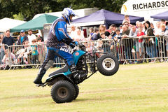 International Stunt Riders. The Festival of Leisure South Derbyshire Stock Images
