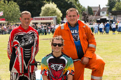 International Stunt Riders. The Team, The Festival of Leisure South Derbyshire Stock Images