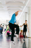 International summer dance school Royalty Free Stock Photo