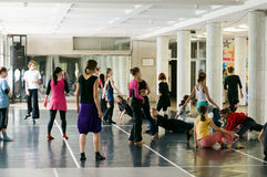 International summer dance school Stock Images