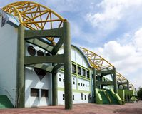 The International Swimming Stadium in Kaohsiung Royalty Free Stock Image