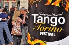 International Tango Torino Festival Stock Photos