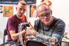 International Tattoo Convention in Poland Royalty Free Stock Photo