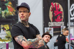 International Tattoo Convention in Poland Royalty Free Stock Photos