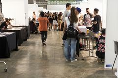 International Tattoo fest: reunon of biggest tattoo artist Stock Image