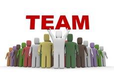 International team Royalty Free Stock Image
