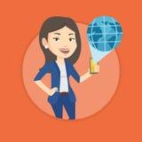 International technology communication. Royalty Free Stock Photography