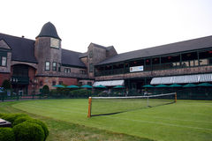 International Tennis Hall of Fame, Newport, Rhode Island.  royalty free stock photos