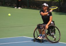 International tennis wheelchair championship Royalty Free Stock Images