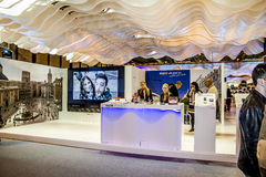 International Tourism Fair, Madrid, Spain. FITUR 2014. Fair Inst Stock Images